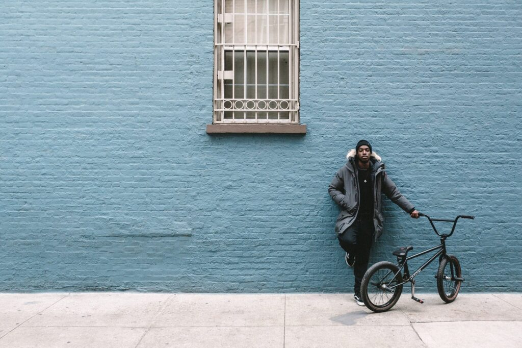 Life with bicycle